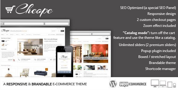 Cheope Shop – Flexible e-Commerce Theme