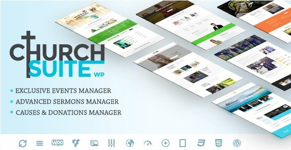 Church Suite – Responsive WordPress Theme