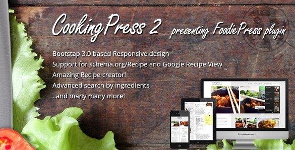 CookingPress – Recipe & Food WordPress Theme