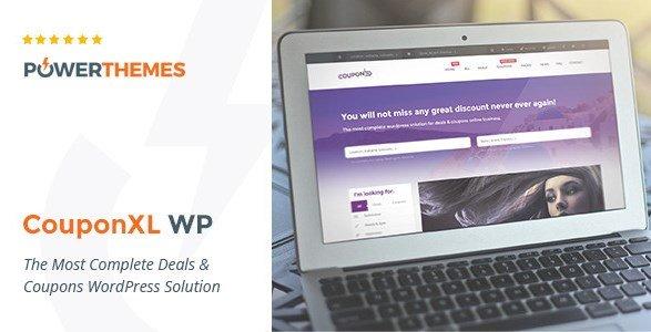 CouponXL – Coupons, Deals & Discounts WP Theme