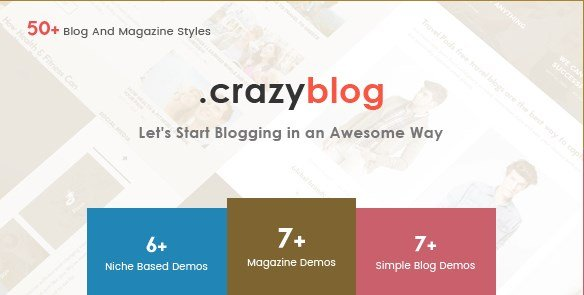 CrazyBlog – Start A Blog or Magazine for Adsense