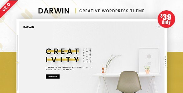 Darwin – Creative WordPress Theme