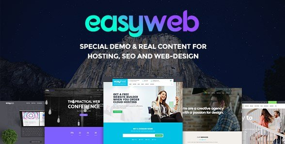 EasyWeb – WP Theme For Hosting and Web-design Agencies
