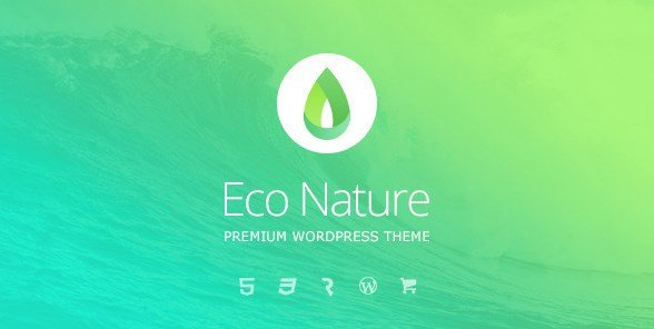 Eco Nature – Environment & Ecology WordPress Theme