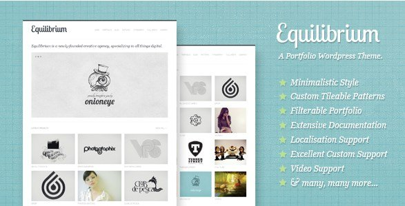 Equilibrium – Clean and Modern WP Portfolio Theme
