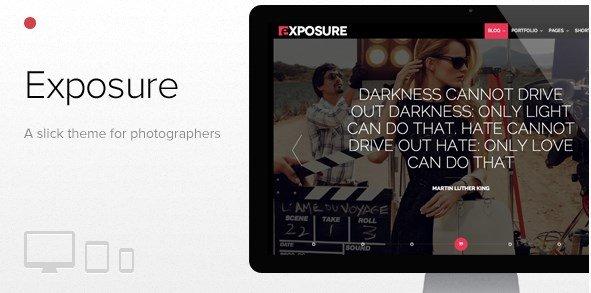 Exposure – Fullscreen Responsive Photography Theme