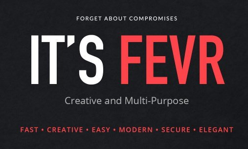 Fevr – Creative MultiPurpose Theme