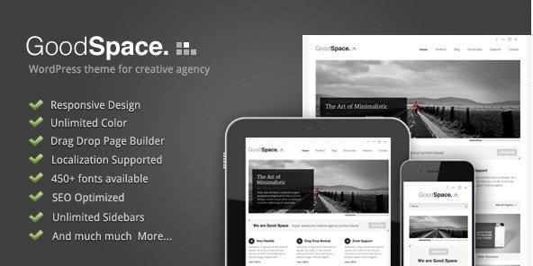 Good Space – Responsive Minimal WP Theme