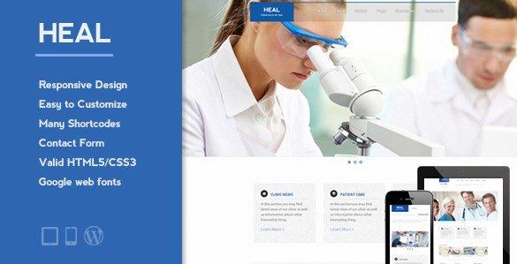 HEAL – Responsive Medical WordPress Theme