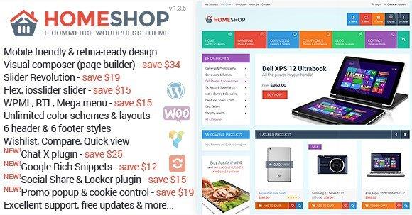 Home Shop – WooCommerce Theme