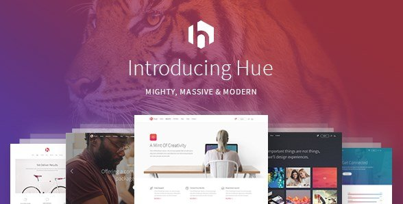 Hue – A Mighty Massive & Modern Multipurpose Theme