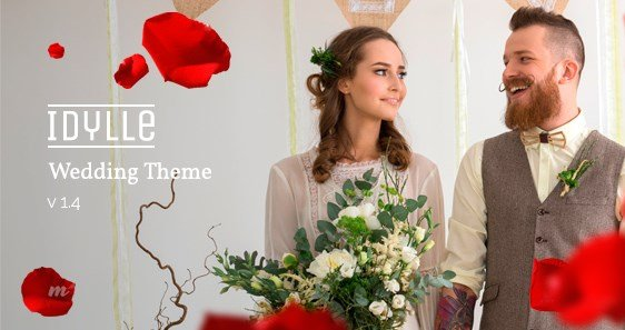 Idylle Responsive Wedding Theme