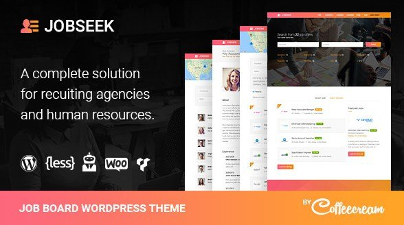 Jobseek - Job Board WordPress Theme