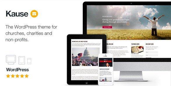 Kause - Multi Purpose WordPress Theme