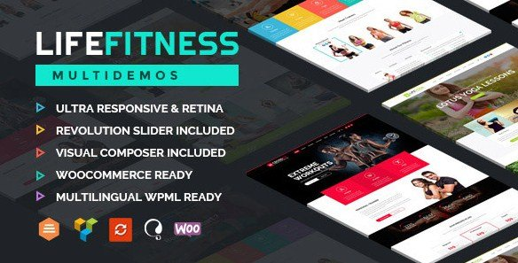Life Fitness - Gym&Sport WordPress Theme