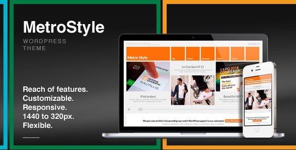 MetroStyle - Responsive All Purpose WordPress Theme