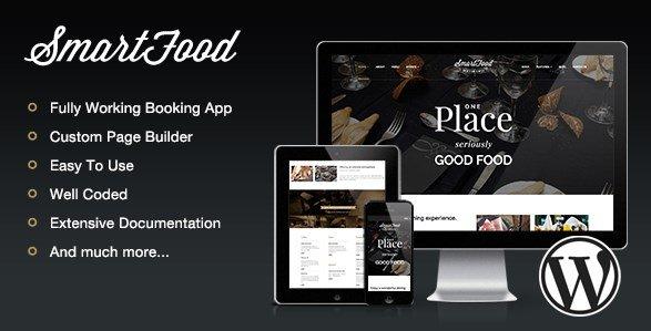 SmartFood - Restaurant, Cafe, Bistro WordPress Theme