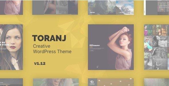 Toranj - Responsive Creative WordPress Theme