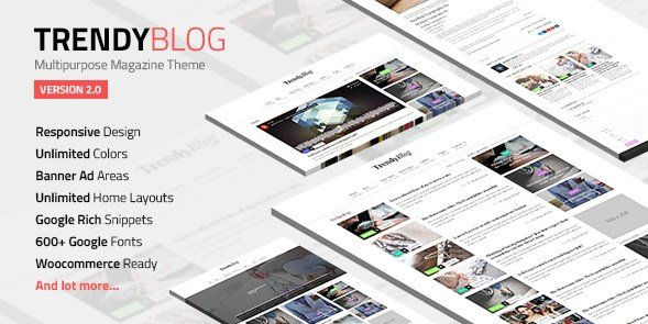 TrendyBlog - Multipurpose Magazine Theme