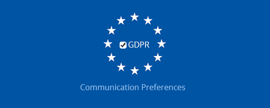 GDPR Communication Preferences