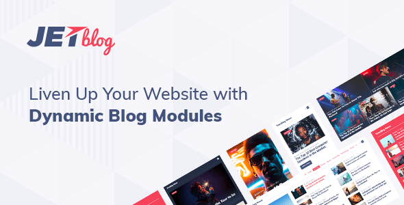 JetBlog – Blogging Package For Elementor Page Builder