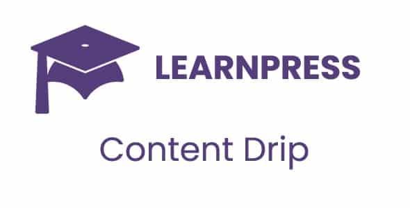 LearnPress Content Drip