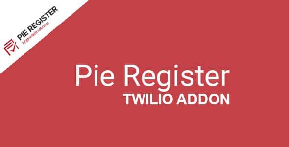 Pie Register Twilio