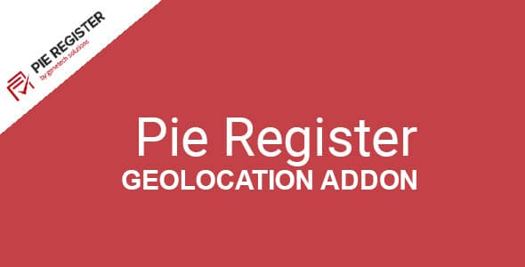 Pie Register Geolocation