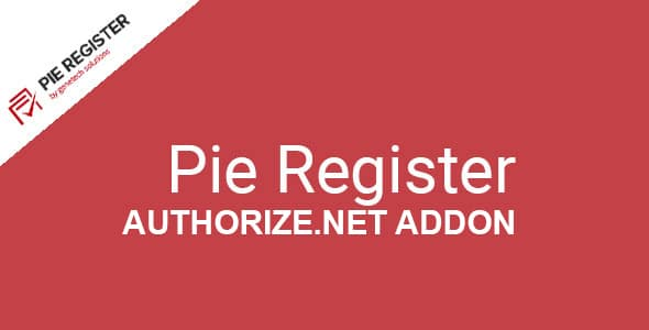 Pie Register Authorize.Net