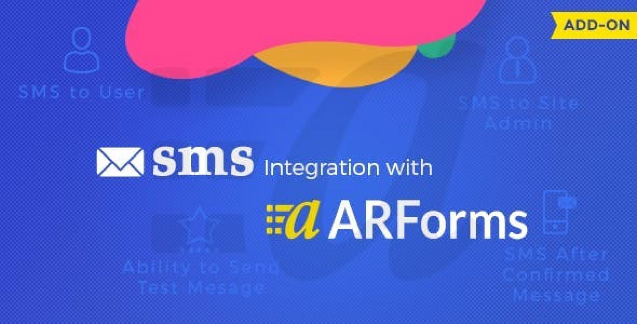 ARForms SMS Add-On