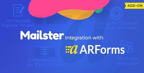 ARForms Mailster Integration