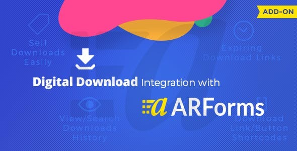 Digital Downloads With Arforms