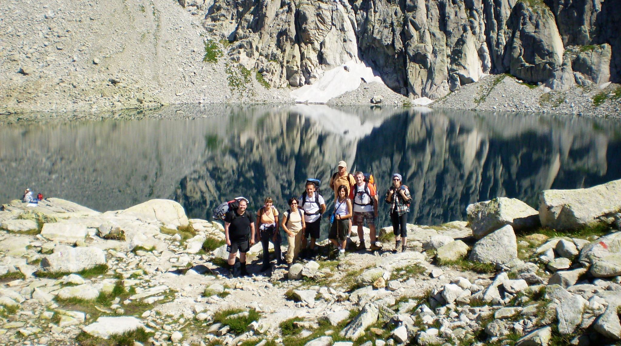 Foto fondatori CdC al Lago Cima d'Asta