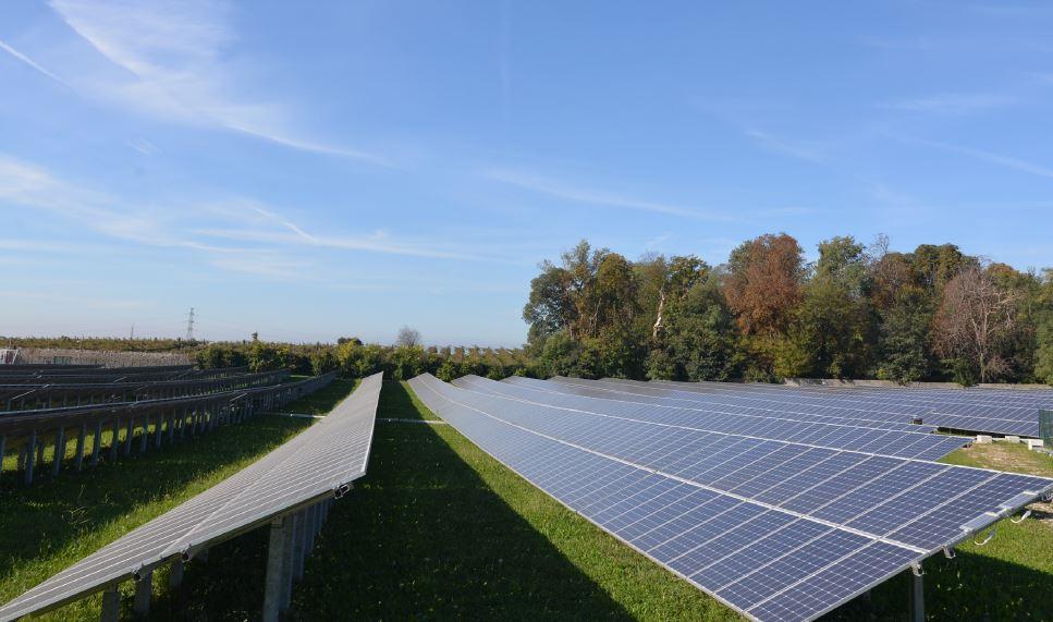 Foto impianto fotovoltaico