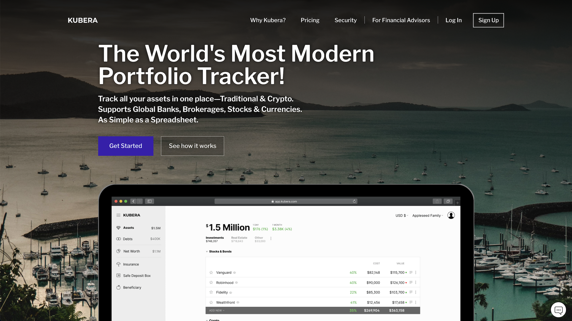 Kubera: A Well-Rounded Portfolio Management Tool for Modern, Diverse Investors