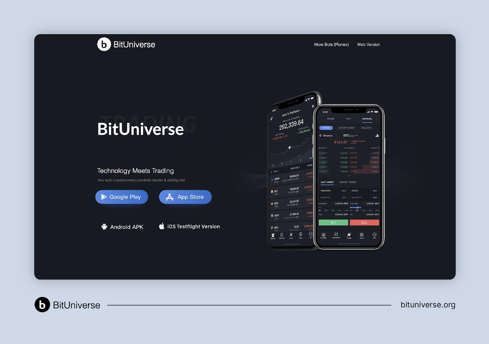 BitUniverse: A Blockfolio Alternative for Advanced (And Adventurous) Crypto Investors