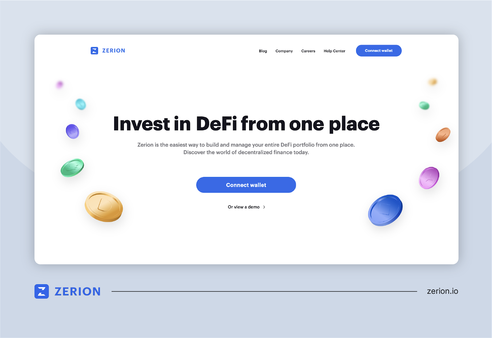 Zerion: Simplifying DeFi Transactions for Diverse Investors
