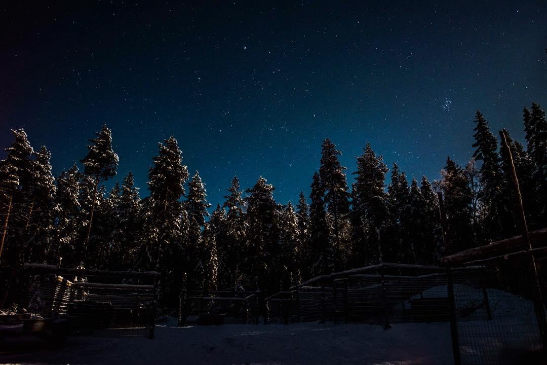 Starry skies in Lapland