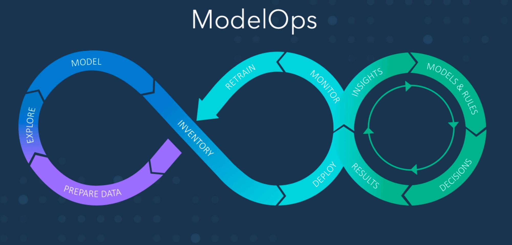 The ModelOps decision process