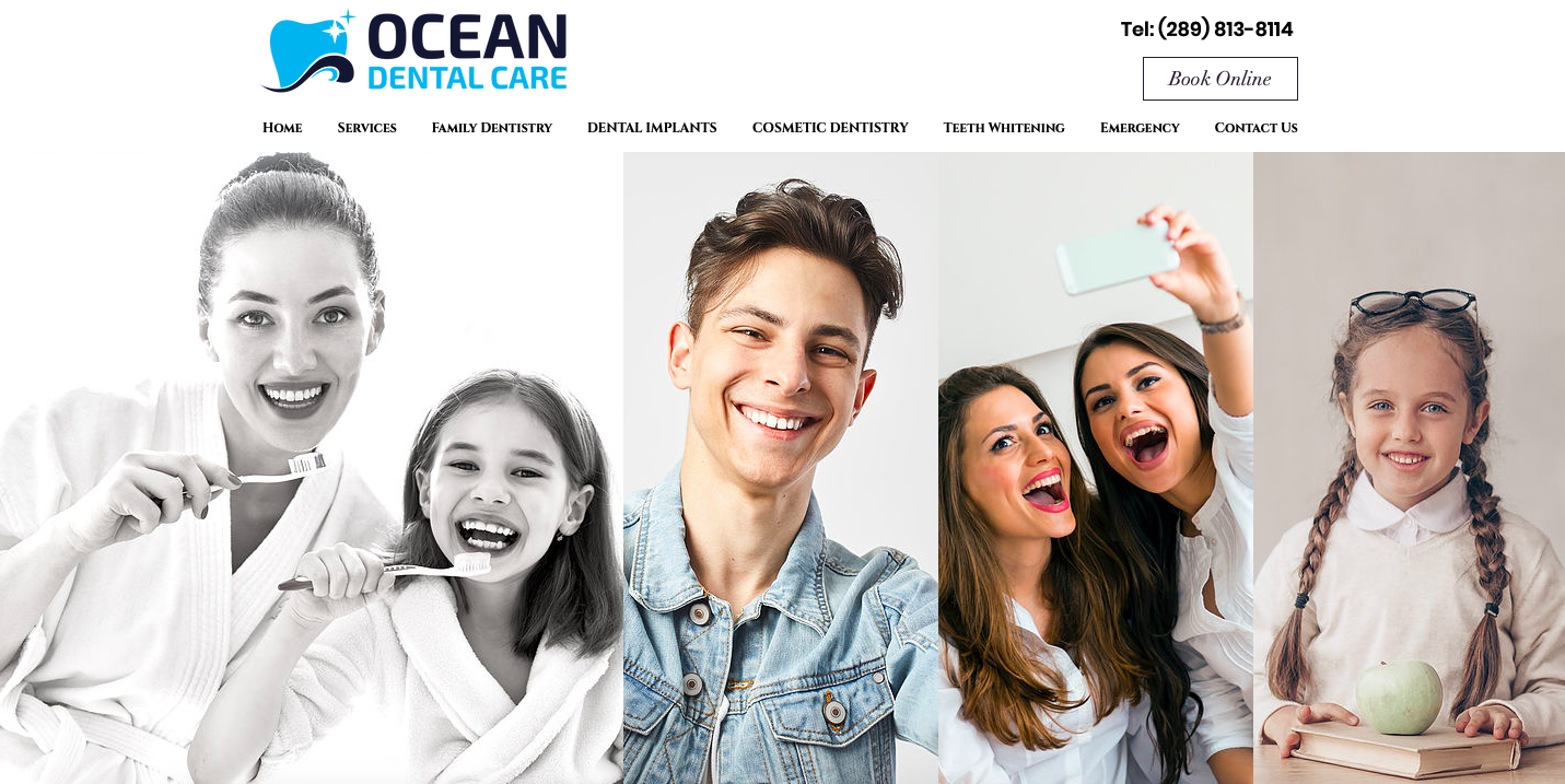 Simplicity in design for dental clinic - Ocean Dental Care Oakville - Microswift