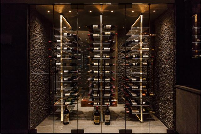 Acrylic Wine Cellar