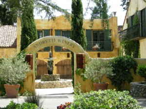 Gorgeous Andretti Winery Entrance