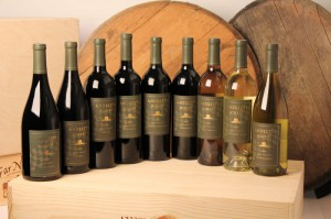 Andretti Winery bottles - a fantastic line-up