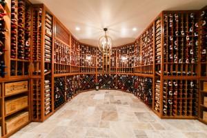Wine Cellar in Darien Connecticut