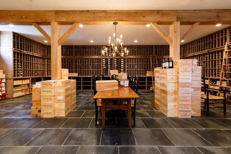 Detached Garage Turned Custom Wine Cellar Masterpiece