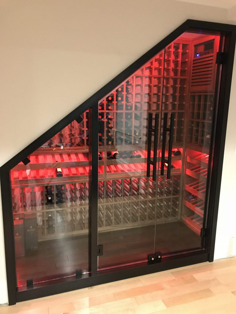 Hoboken Under-Stair Custom Wine Cellar