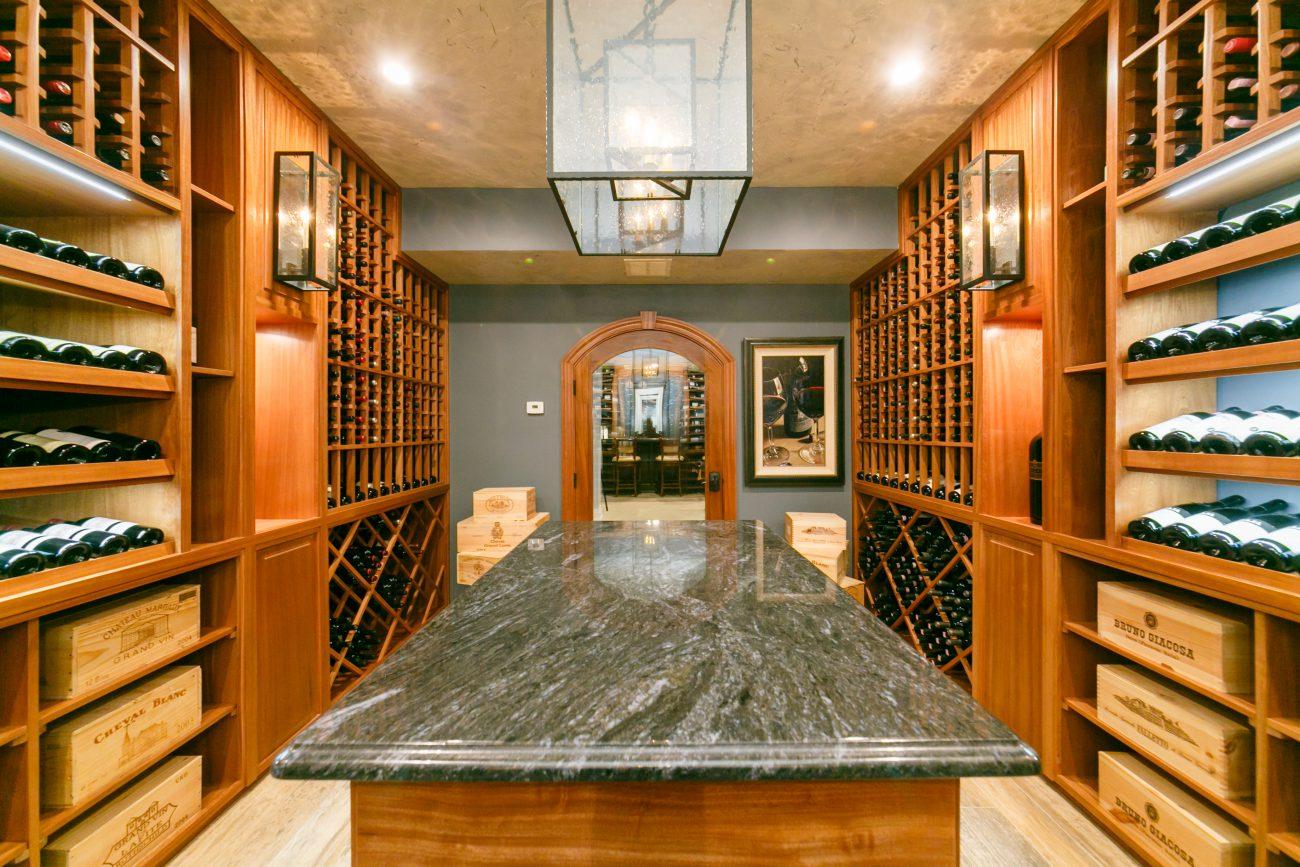 Custom Wine Cellar in Rumson New Jersey