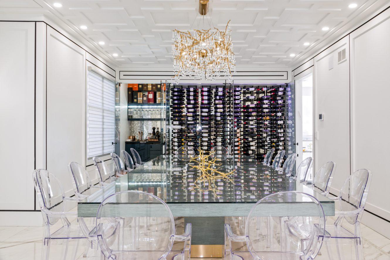 Jersey Shore Custom Wine Cabinet