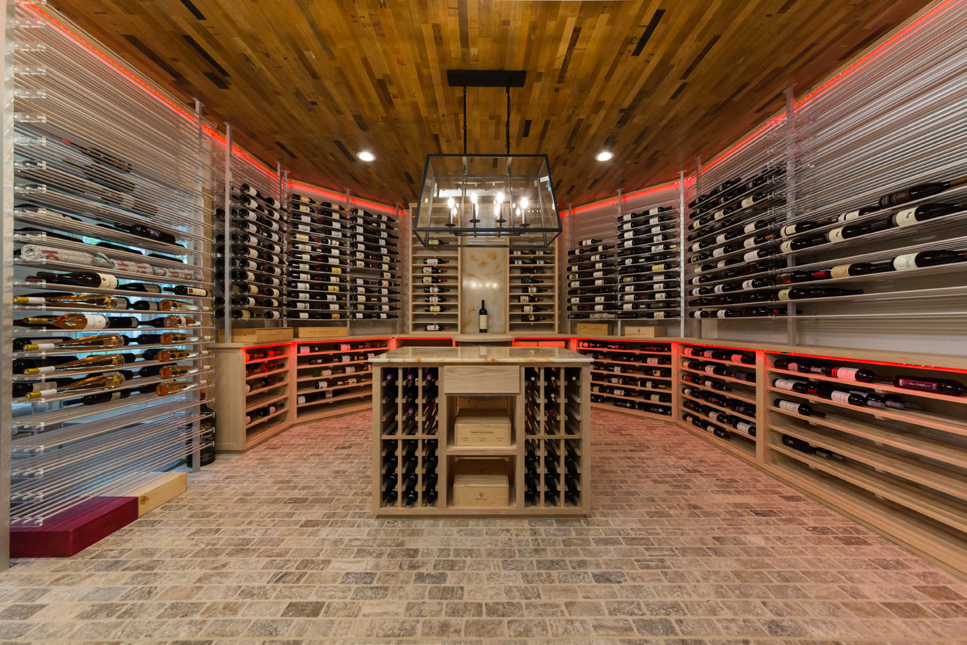 Westfield NJ Custom Wine Room