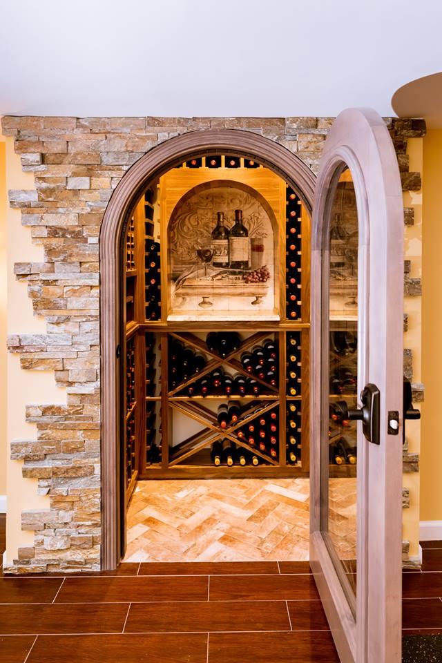 Custom Wine Closet